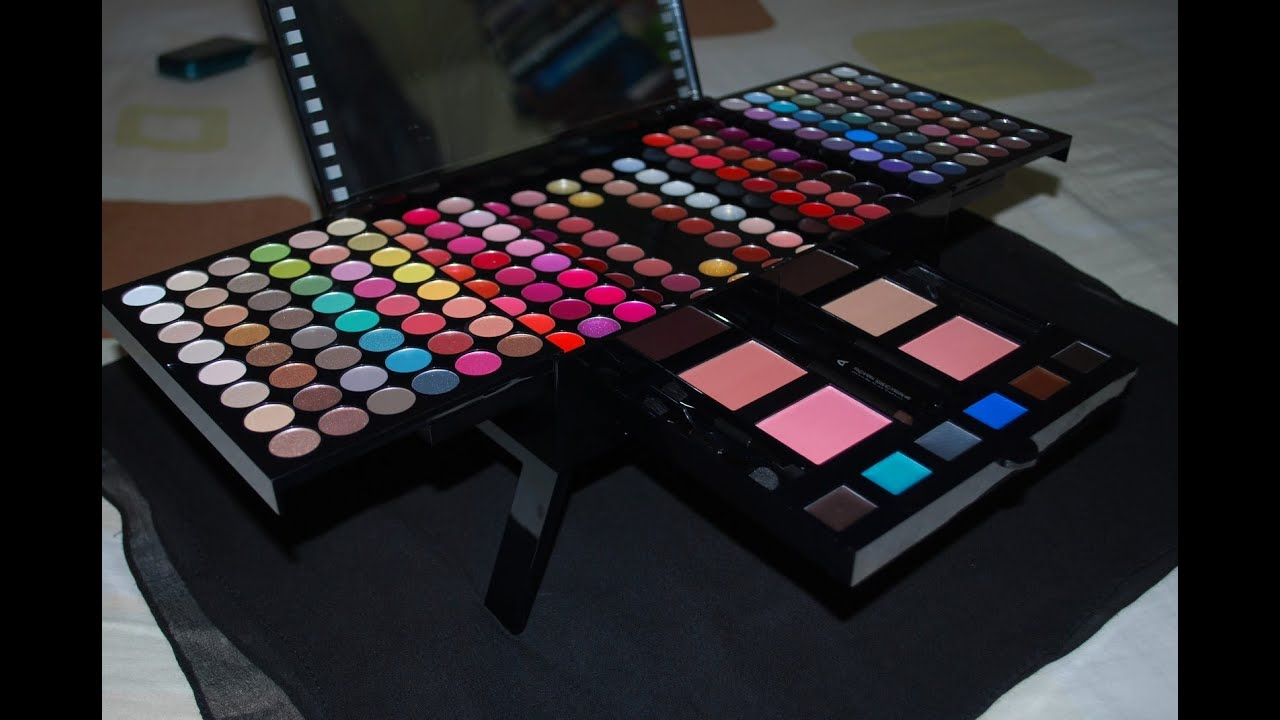 Sephora Studio Make Up 190+ colours 2011 - Review/Reseña - YouTube