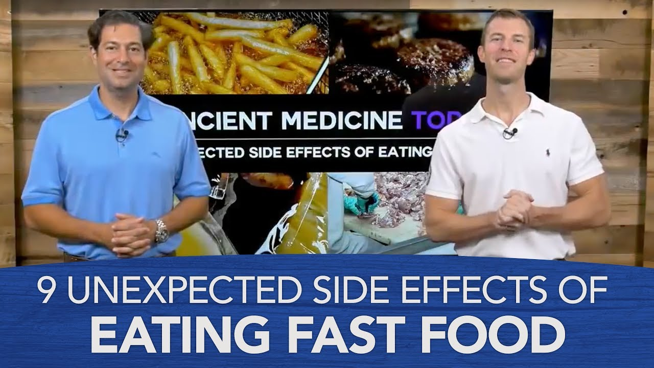 fast food and its effects