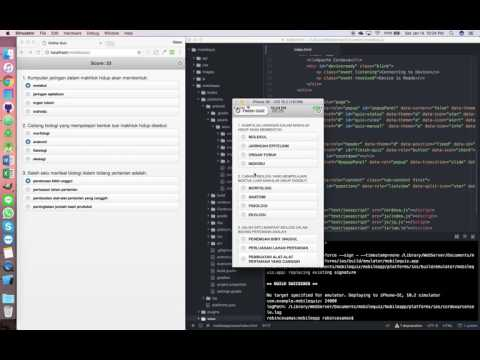 Simple IOS App With HTML, CSS & JS