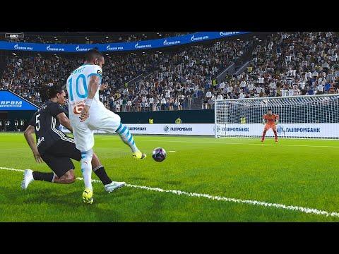 Lyon Vs Olympique Marseille |Ligue 1-PES 2021 Gameplay