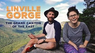 Linville Gorge - Grand Canyon of the East (5 Minute Friday)