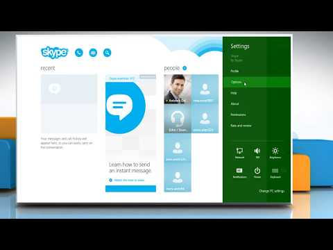 how to connect webcam on skype