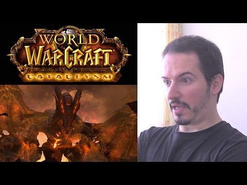 WORLD OF WARCRAFT: CATACLYSM - Cinematic Trailer REACTION & THOUGHTS