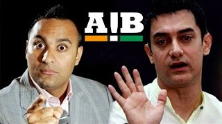 AIB Roast - Russell Peters Asks Aamir Khan To Shut Up