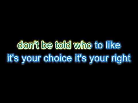 Denim -  Middle of the road Karaoke version