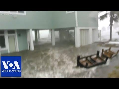 Floods, devastation as Hurricane Michael hits Florida