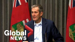 Coronavirus outbreak: Manitoba declares state of emergency over COVID-19 | FULL