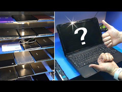 Ноутбук из стеллажа или оживление мертвеца, выбранного случайным способом...