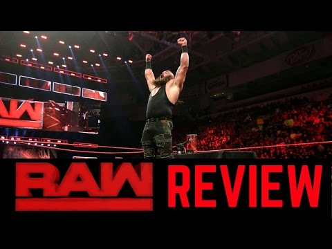 WWE Raw 2/27/2017 Review | Monday Night Raw is Nap Time