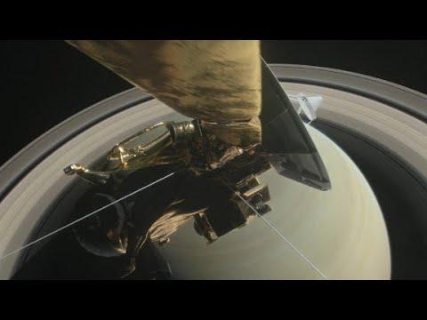 NASA retired Cassini, by crashing it into Saturn - YouTube