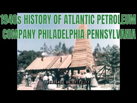 1940s HISTORY OF ATLANTIC PETROLEUM COMPANY  PHILADELPHIA PENNSYLVANIA 71402
