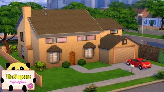 The Simpsons Inspired House - TS4 [SPEED BUILD]