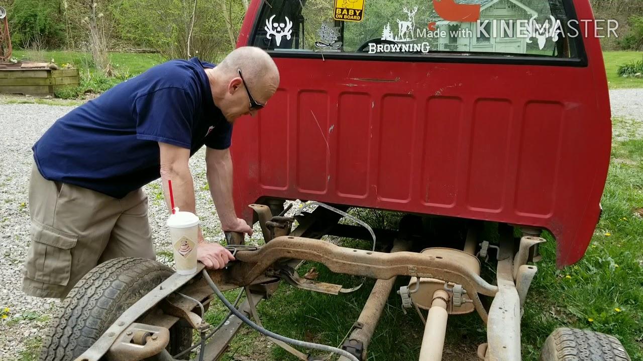 Chevy s10 gas tank removal  Rusty restorations  Mini trucks are Future  classics