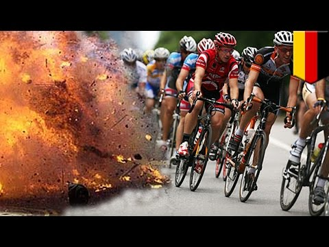 Bomb attack: German police foil suspected plot against Frankfurt May Day cycle race - TomoNews
