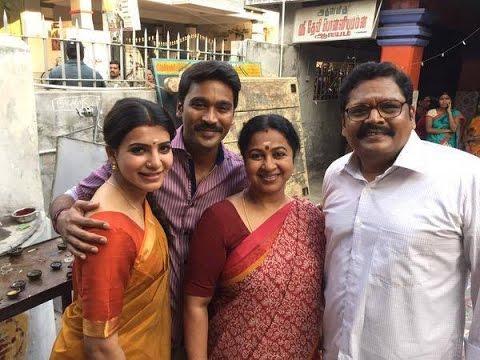 real and reel family of dhanush vip 2 shooting spot