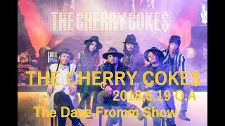 "Studio Live【""PADDY BEAT""のロック・バンドTHE CHERRY COKE$!!】 InterFM897【DFS GUESTS】"