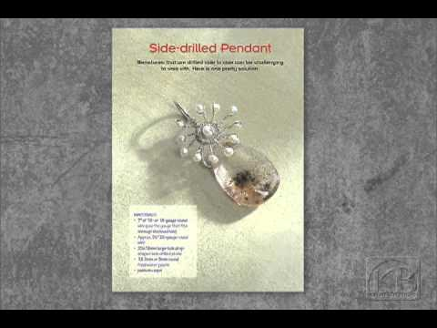 Build Your Own Wire Pendants - Kimberly Berlin - YouTube