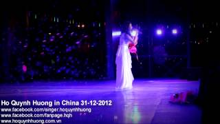 Hồ Quỳnh Hương in China 31-12-2012 [HD 1080]