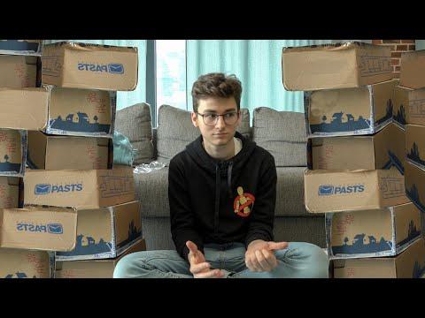 видео: 1 мальчик 100 посылок