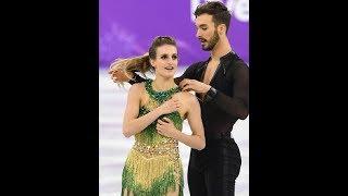 Entertainment News 247 - またも衣装はだけ、フランス組ハプニングに「あっ」 ガブリエラ・パパダキス 検索動画 6