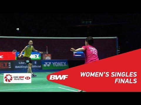 F | WS | TAI Tzu Ying (TPE) [1] vs CHEN Yufei (CHN) [3] | BWF 2019