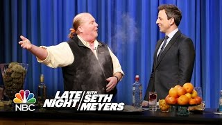 Mario Batali Shows Seth How to Make Seafood Tapas