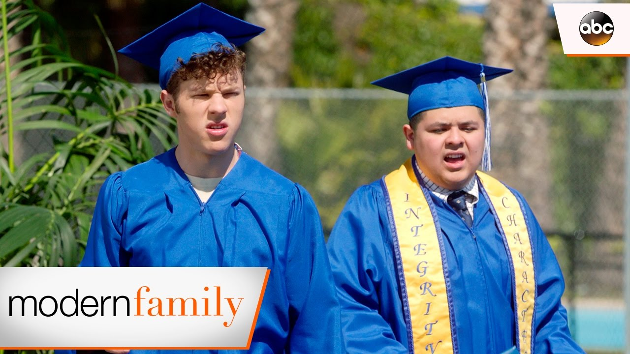 modern family alex dunphy graduation speech