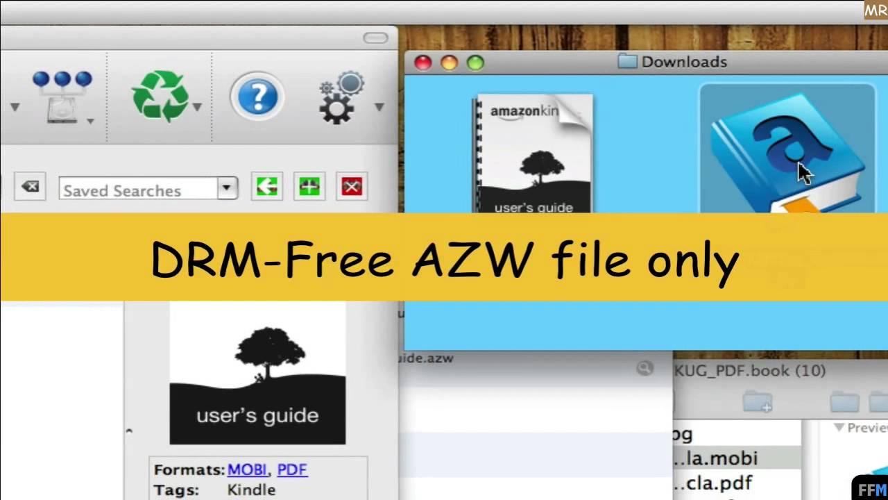 PDF to MOBI & AZW to EPUB Free on Mac-MR