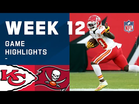 Chiefs vs. Buccaneers Week 12 Highlights | NFL 2020