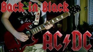 AC/DC - Back in Black (Guitar Cover)