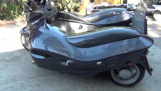 new 650cc nippi disabled wheelchair bike.