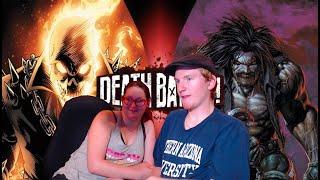 ArtificialDragon Reacts To Ghost Rider vs Lobo l Death Battle