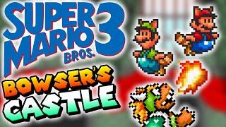 Super Mario All-Stars: Super Mario Bros. 3 (SNES) World 8 (BOWSER'S CASTLE & ENDING)