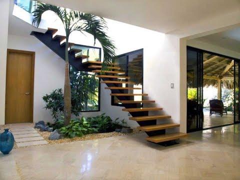 36 inspiring designs of landscape garden stairs plan n - Jardines exteriores de casas modernas ...