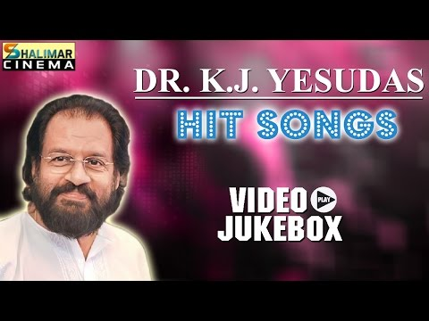 K.J.Yesudas Top 10 Telugu Golden Hit Songs  || Best Collection Video Jukebox
