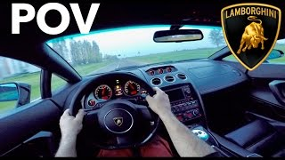 Lamborghini Gallardo LP560 - 4 POV Test Drive INSANE ACCELERATION