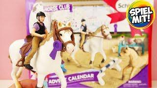 Schleich Pferde ADVENTSKALENDER 2018 Horse Club deutsch | Wir öffnen alle 24 Türchen!Advent Calendar