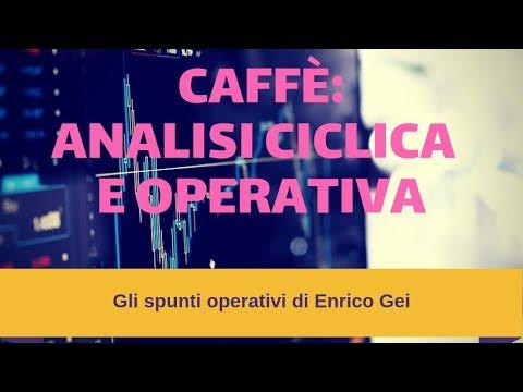 Commodities Trading. Caffè: analisi ciclica e operativa