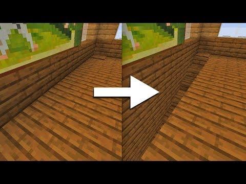 Как сделать скрытую лестницу в Майнкрафт