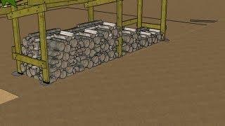 comment construire abris bois