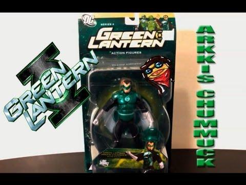arkkis chummuck green lantern de dc direc unboxing en español