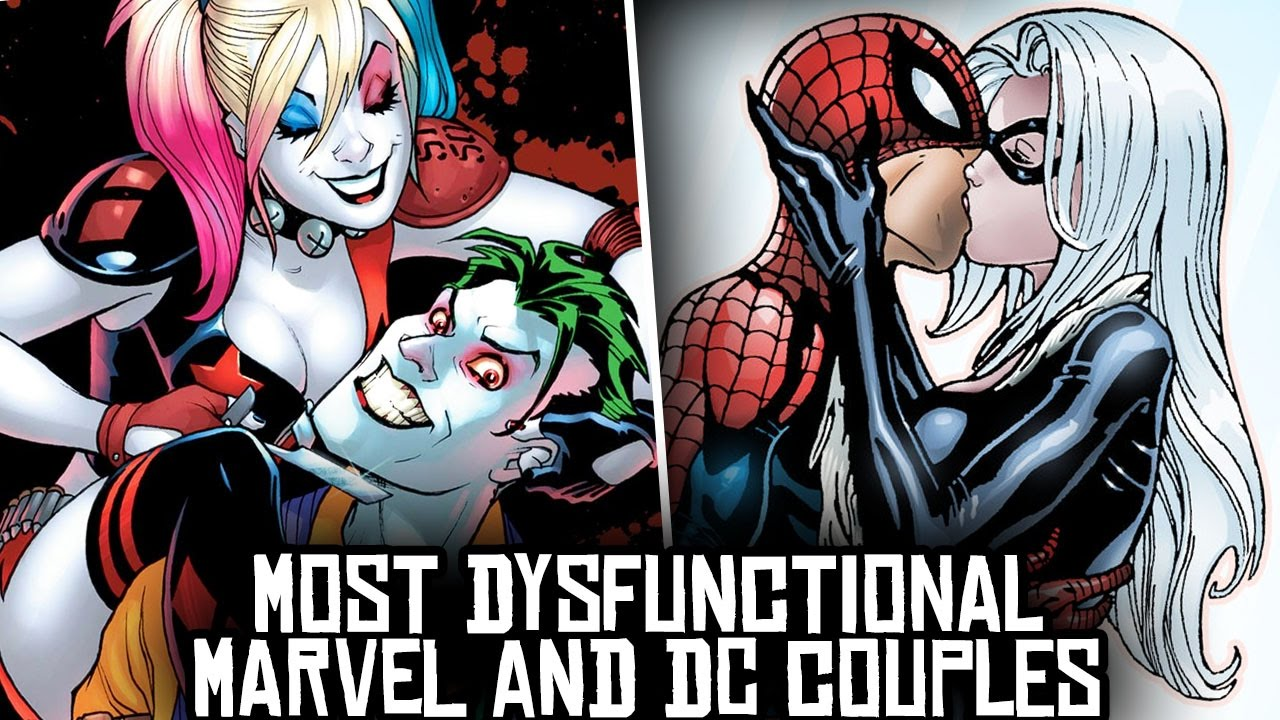 10 Most DYSFUNCTIONAL Marvel & DC Couples! - YouTube