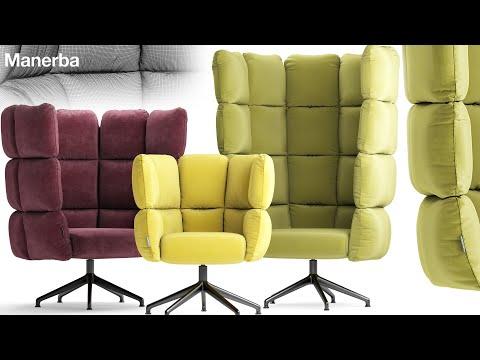 "№184. Chair Modeling "" Gamma SCARLETT "" Autodesk 3ds Max"