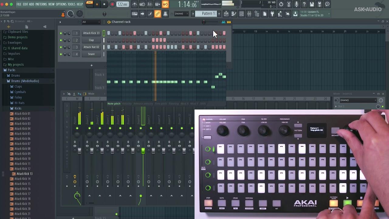 Review: Akai Pro Fire (FL Studio Controller) : macProVideo com