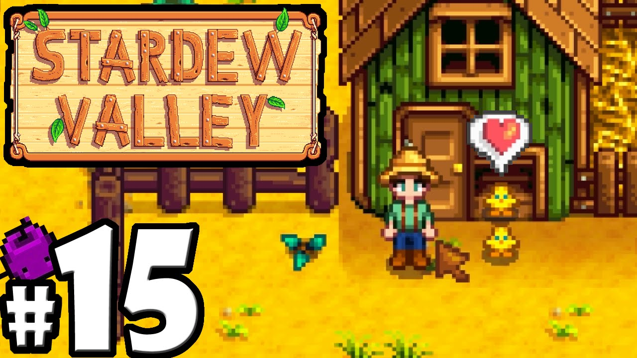 Stardew Valley Gameplay Walkthrough PART 15 - Baby Chickens! Coop Feeder 12570b937