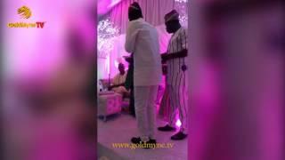 EXCLUSIVE WATCH FEMI ADEBAYO39S WEDDING TO TAYO