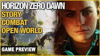 Horizon Zero Dawn Preview: Thunderjaw! Story, Combat, And Open World Game Engine