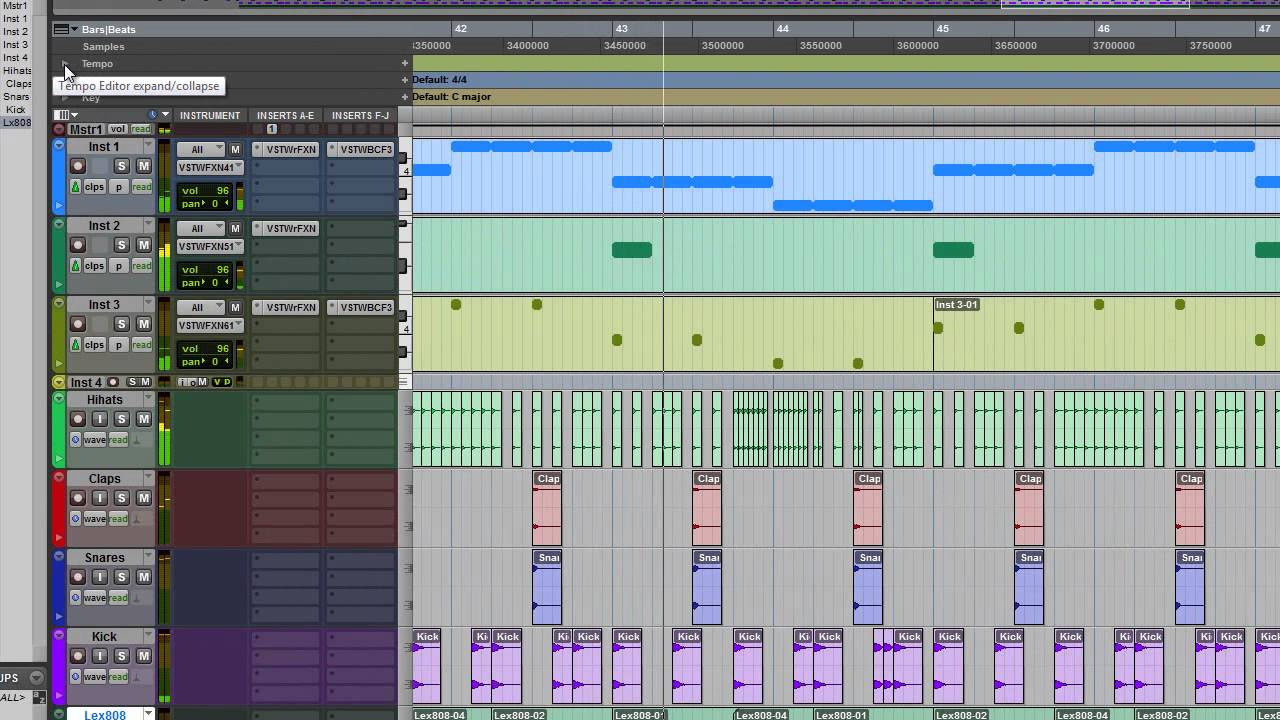pro tools 10 tutorial making a trap beat the beginning still a work in progress youtube. Black Bedroom Furniture Sets. Home Design Ideas