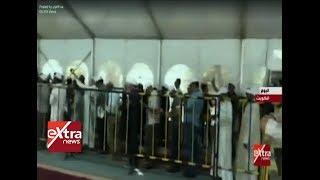غرفة الأخبار  شاهد.. أغنية الصاعقة المصرية من أمام احدى اللجان بالكويت
