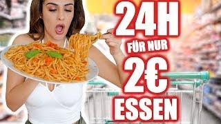 24 STUNDEN FÜR NUR 2 EURO ESSEN KÖNNEN | KINDOFROSY
